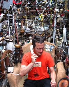 Me in the Cathedral of Junk